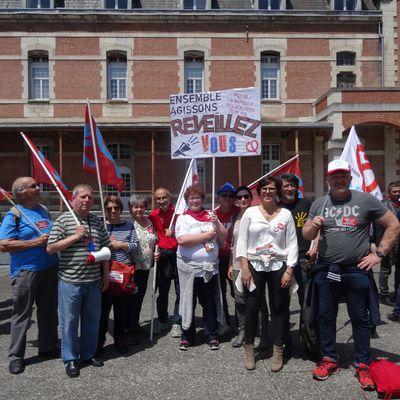 Manif pour le rail en Nouvelle-Aquitaine le 12 avril à Bordeaux : Faisons dérailler Rousset