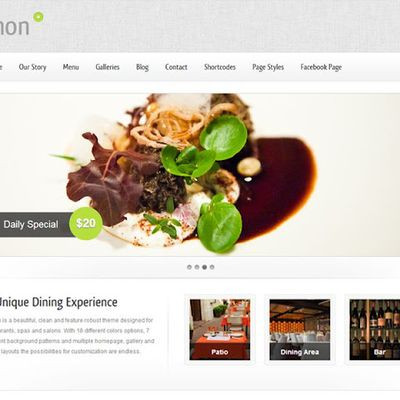Best WordPress Food & Restaurant Themes