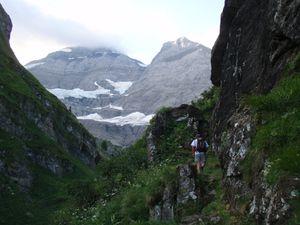 Les Dents du Midi: Haute Cime, depuis Champéry (1/2)