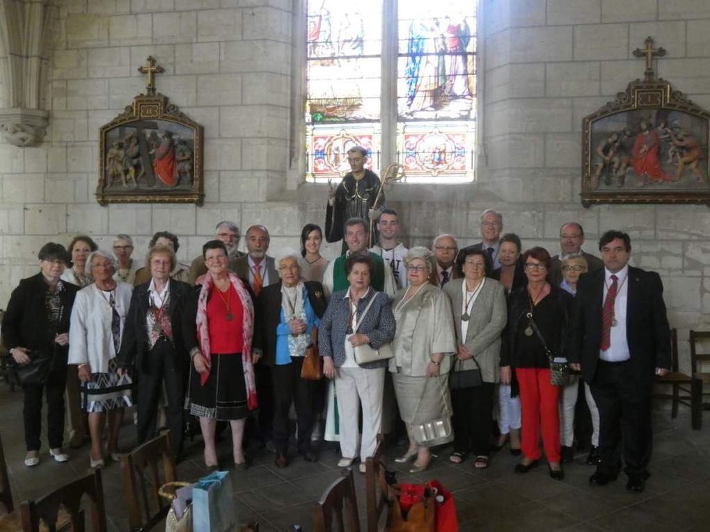 Viaje a Loudun (Francia), patria de San Lesmes