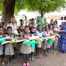 31 nouveaux enfants scolarisés à Hounhomey (Djakotomey).