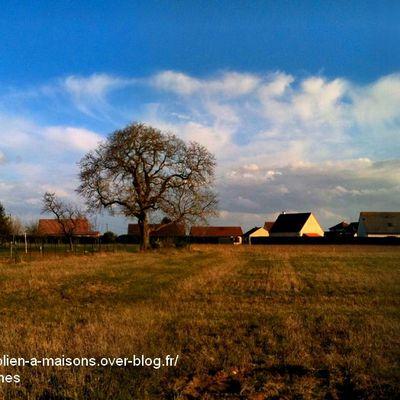Avant / Après : sans et avec des éoliennes à Maisons