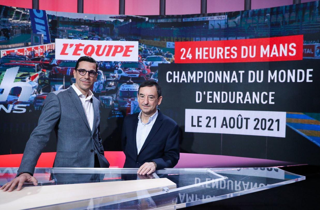 L'Équipe, nouveau diffuseur des 24 Heures du Mans et du WEC
