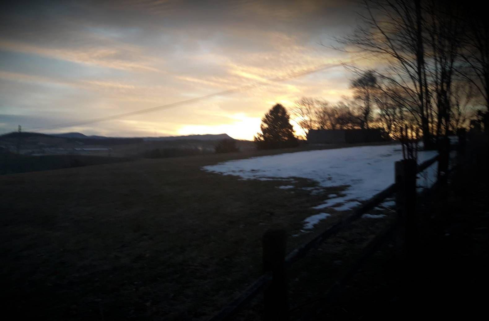 L'aube prometteuse, hier. le 24 février