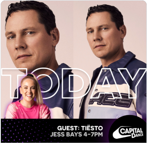 Tiësto Interview  Capital Dance UK with Jess Bays  August 22, 2021