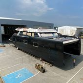 Scoop - first pictures of the first 100 Sunreef Power - Yachting Art Magazine