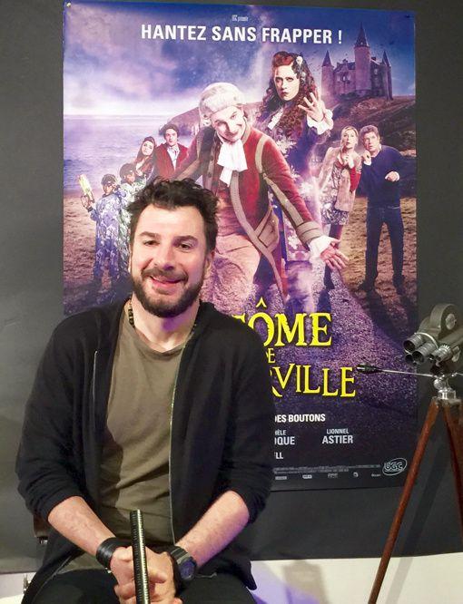 En attendant la vidéo de l entretien avec Michael Youn pour Le Fantôme de Canterville, Quelques Photos