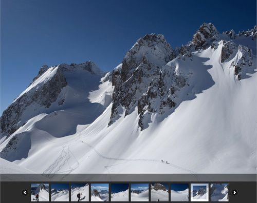 Ski de Rando : Grand Pic de la Lauziere