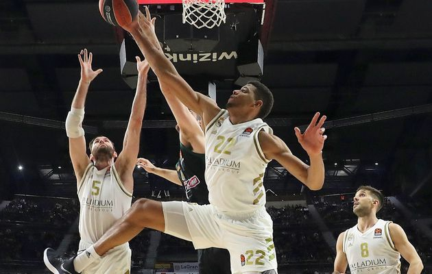 EuroLeague : Walter Tavares mène le Real Madrid avec un double-double
