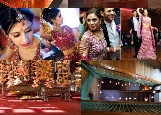Une décoration de mariage indienne