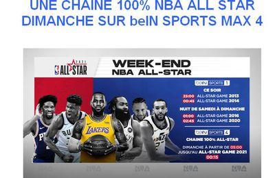 Une chaîne 100% All Star ce dimanche sur bein SPORTS Max 4