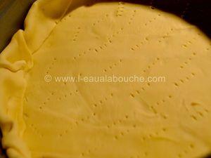 Tarte à la Rhubarbe au Fromage Blanc & Coco
