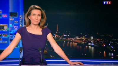 ANNE-CLAIRE COUDRAY - TF1 - LE 20H