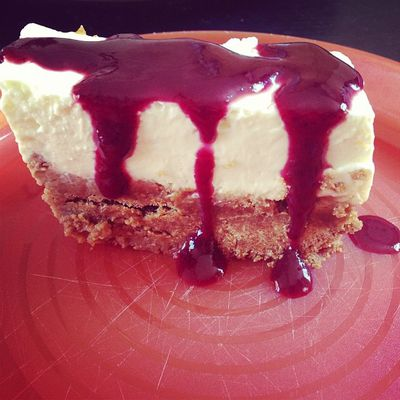 Cheesecake Aux fruits rouges !