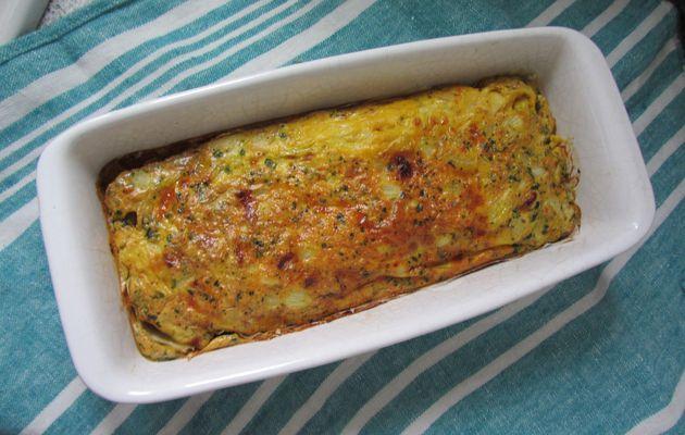 Cake moelleux au quinoa de Sophie