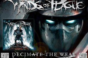 WINDS OF PLAGUE: Decimate The Weak (2008-Century Media) [Symphonic Extreme Metal]