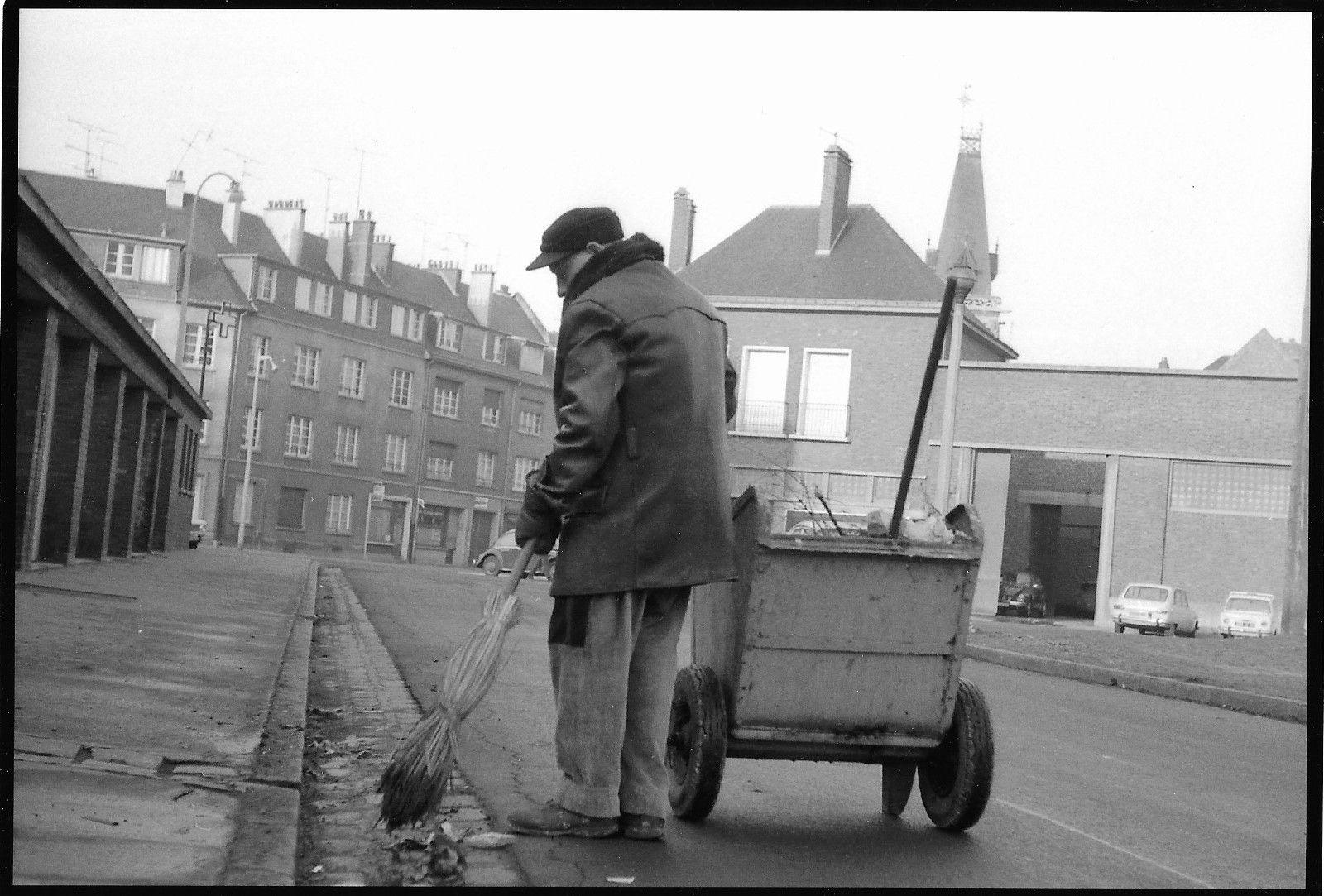 Amiens. Rue de la Veillère. Début des années 70. © Jean-Louis Crimon