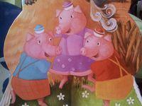 Boucle d'Or et les Trois Ours - La vache- Les Trois Petits Cochons.