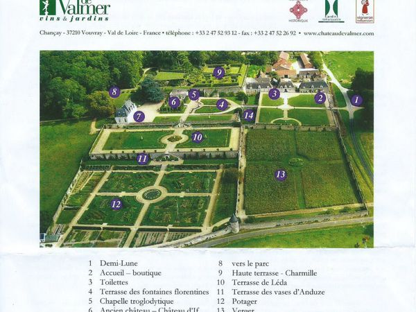 Le Château de Valmer près de Vouvray