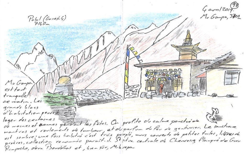 Mu Gompa, Ganesh 4, Milarepa