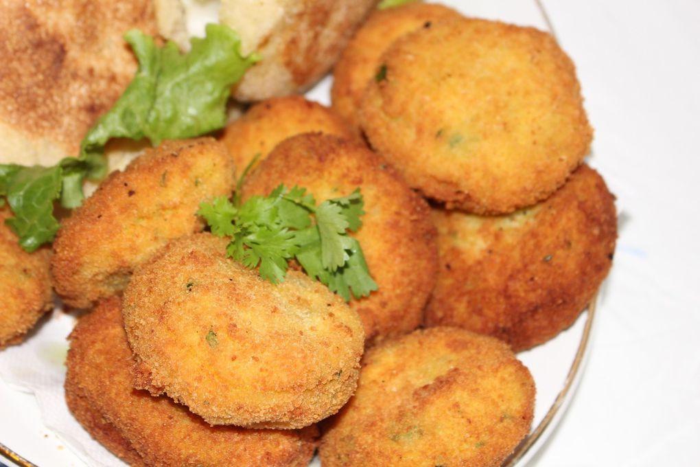 Maakouda fourré au fromage & mini batbouts