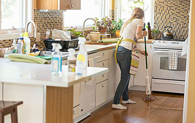 Skills to maintain & clean your kitchen.