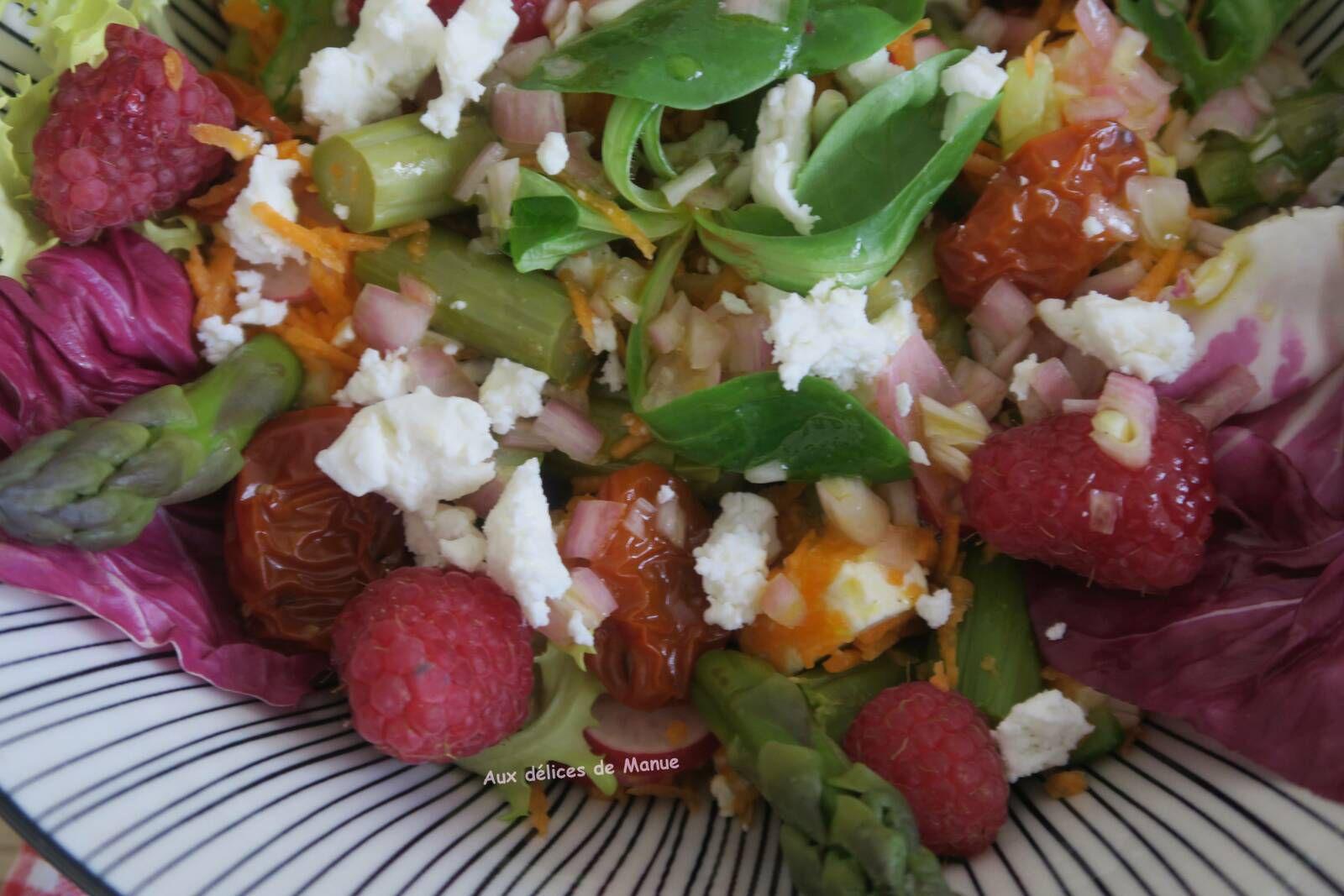 salade de primeurs à la bresaola