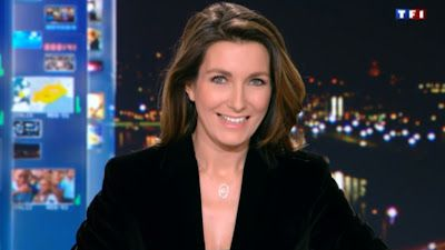 2013 01 05 - ANNE-CLAIRE COUDRAY - TF1 - LE 20H @20H00