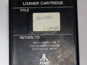 Un proto de Xevious pour l'Atari 2600 découvert !
