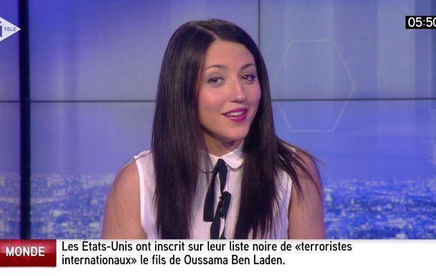 📸5 SONIA CARNEIRO 💄👄💋 @SoniaaCarneiro pour LES SPORTS cette nuit @itele #vuesalatele