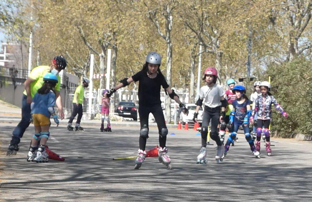 Roller lib, nimes, club, apprendre, roller, quad, enfants, adultes, cours, essai