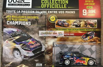 Hachette : Collection officielle WRC à l'échelle 1/24