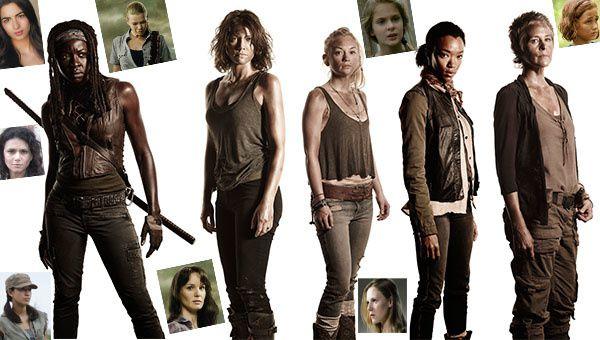 Sondage : les femmes de The Walking Dead