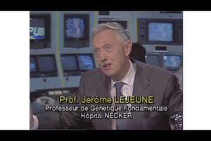 Professeur Jérôme Lejeune