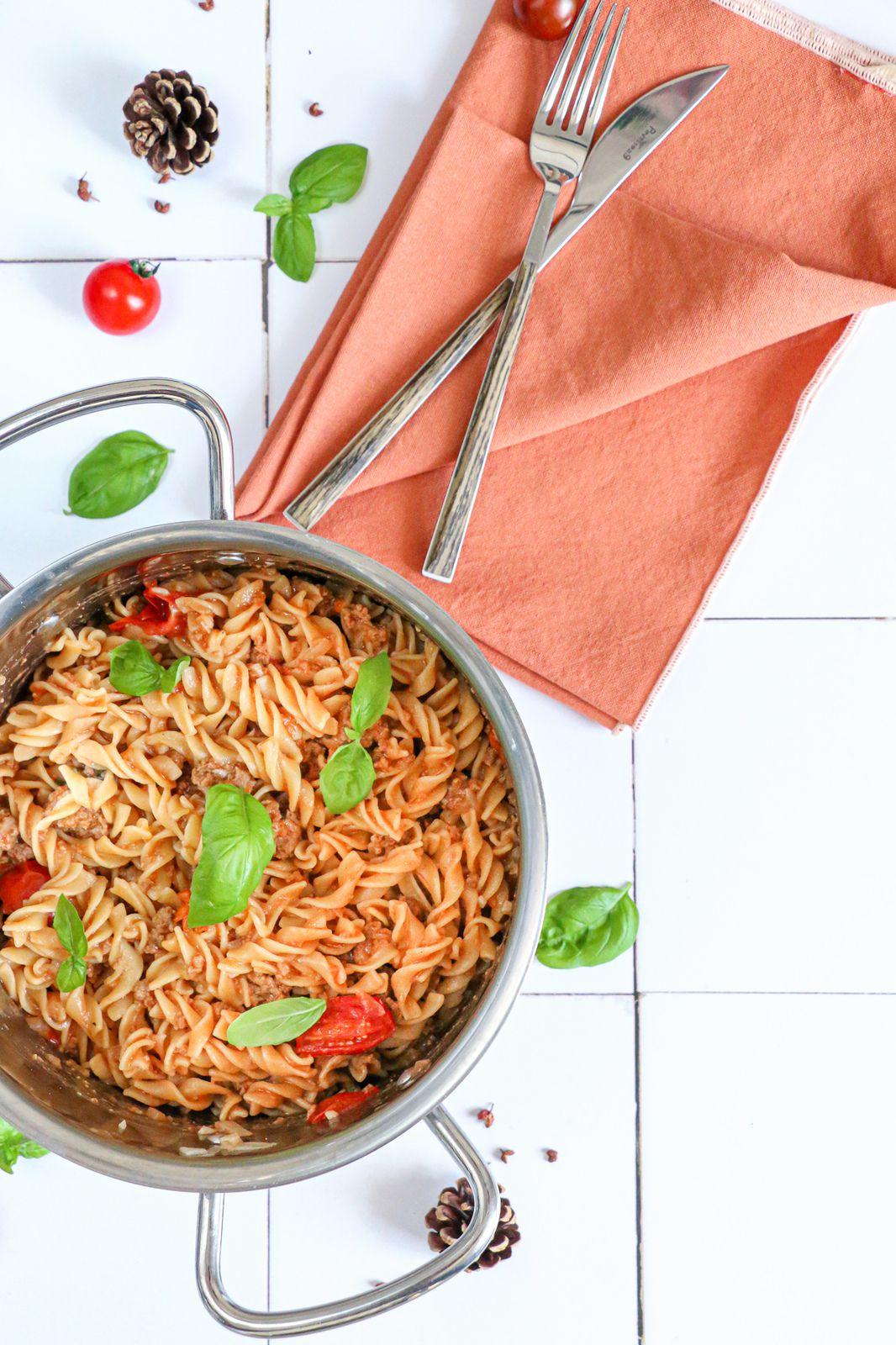 One pot pasta à la tomate