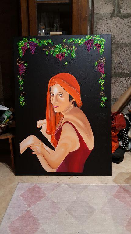 tableau acrylique 1.20*90
