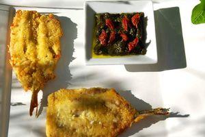 """Sardines """"en Papillon"""", Pesto d'Oseille"""