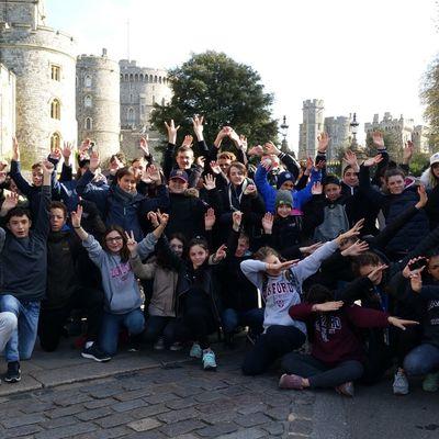 Voyage en Angleterre journée 6 : un départ royal !