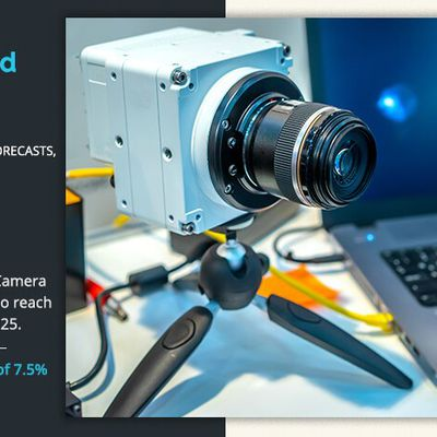 High-Speed Camera Market analysis by spectrum type, component type, application, and region