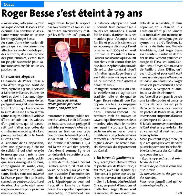Album - Roger Besse (1929 - 2009)