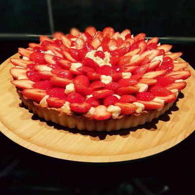 Tarte aux fraise traditionnelle
