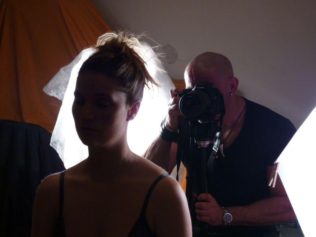 "Shooting ""Elles Vident Leur Sac"" -Pierre Klein - Photos Nathalie Martel"