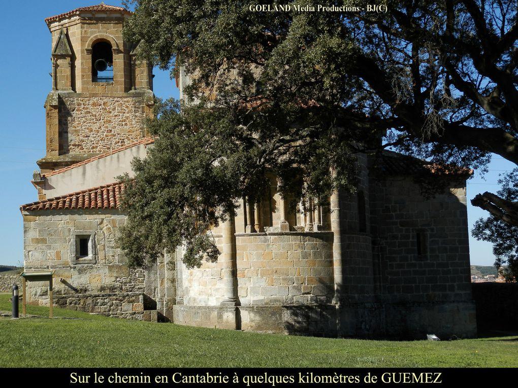 Etape 16 - Vers COMPOSTELLE 2016 - de SANTONA à GUEMEZ - en Cantabrie
