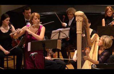 Mozart... Concerto pour flûte et harpe...