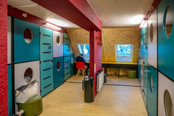 cabine hostel Skylodge by N'PY,