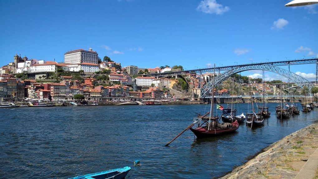 Porto : la ville, le Douro, le porto et la gare