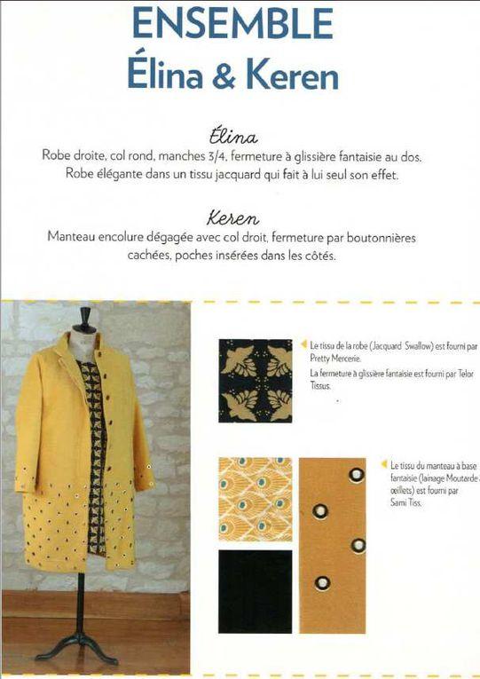 fiches du livre pour le modèle Elina