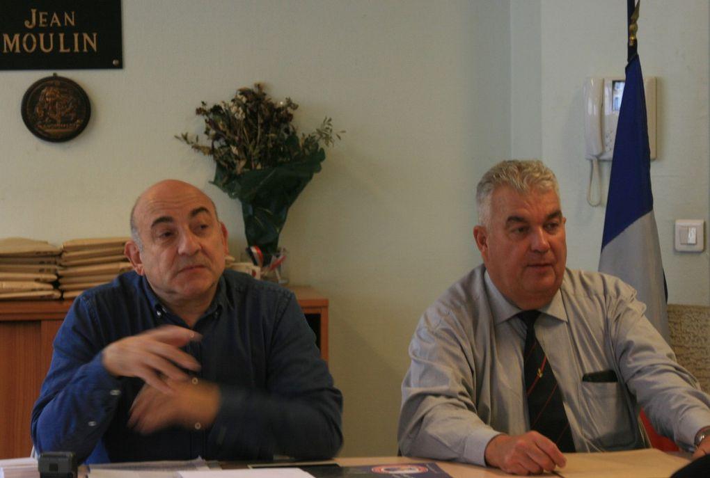 Réunion des présidents à Issy-les-Moulineaux.