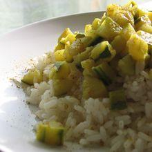 Courgettine au curry