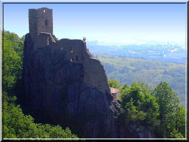 Diaporama château Ribeaupierre 'Petit' - Ribeauvillé